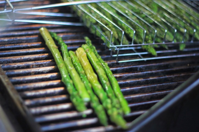 July 4th 2014. Grilled Asparagus