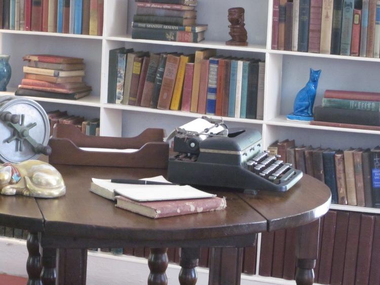 Hemingway's Typewriter from his writing loft in Key West, FL