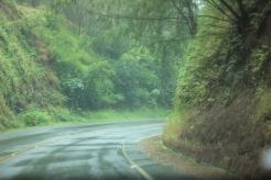 Drive to Hana on a rainy day. Maui Hawaii. 2014