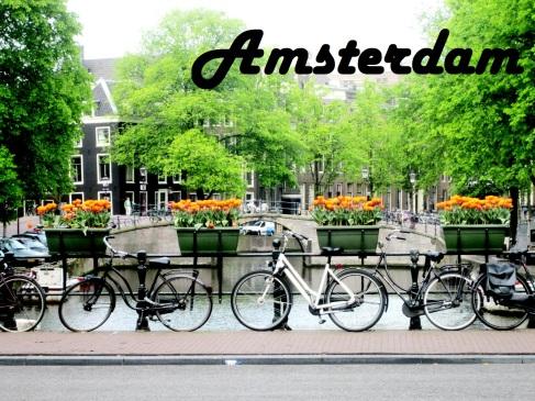 Amsterdam, Netherlands Postcard