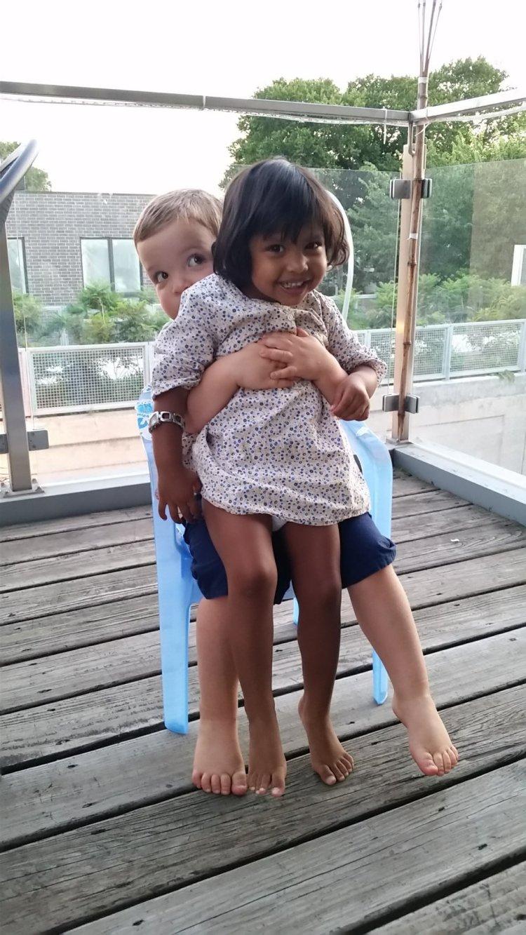 Asha and Quinlan