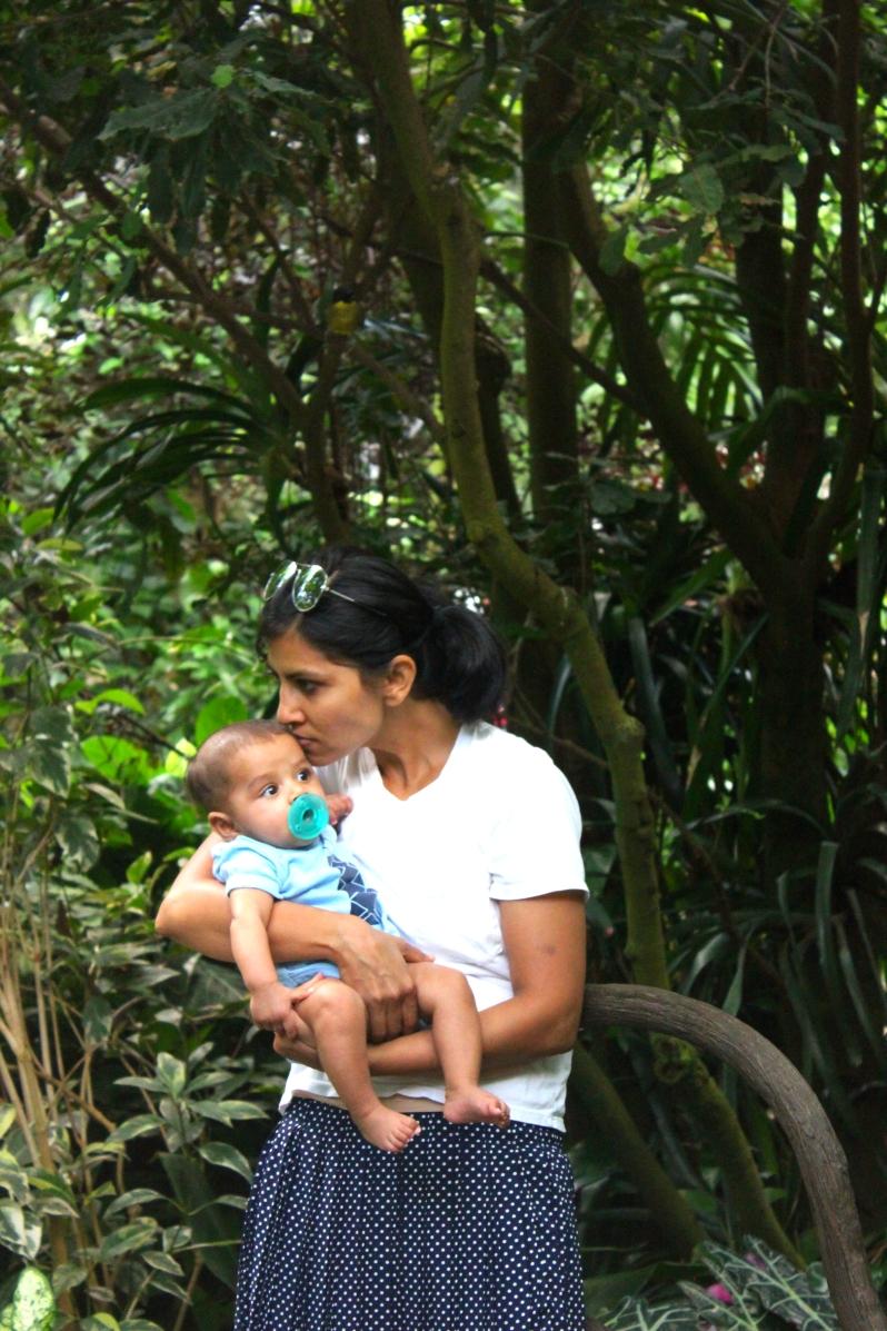 arjun and chika at ashboro zoo