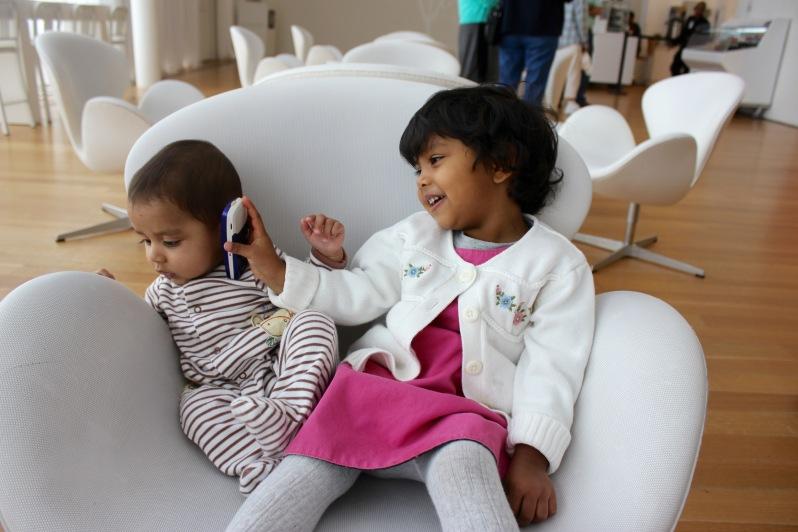 Arjun and Asha at North Carolina Museum of Arts