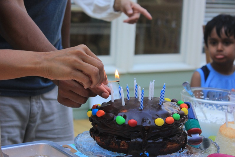 Devang's birthday cake