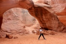Utah, Arches National Park, Travel, Chika, Arjun